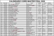 Calendario Fidal Master 2020